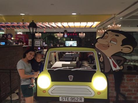 E-Man and me at Marina Square