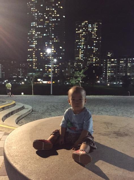 E-Man at Bishan Park