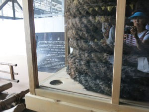 Rope of hemp and hair