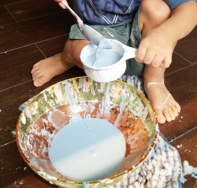 Goopy Goodness! (Indoor Activities for toddlers)